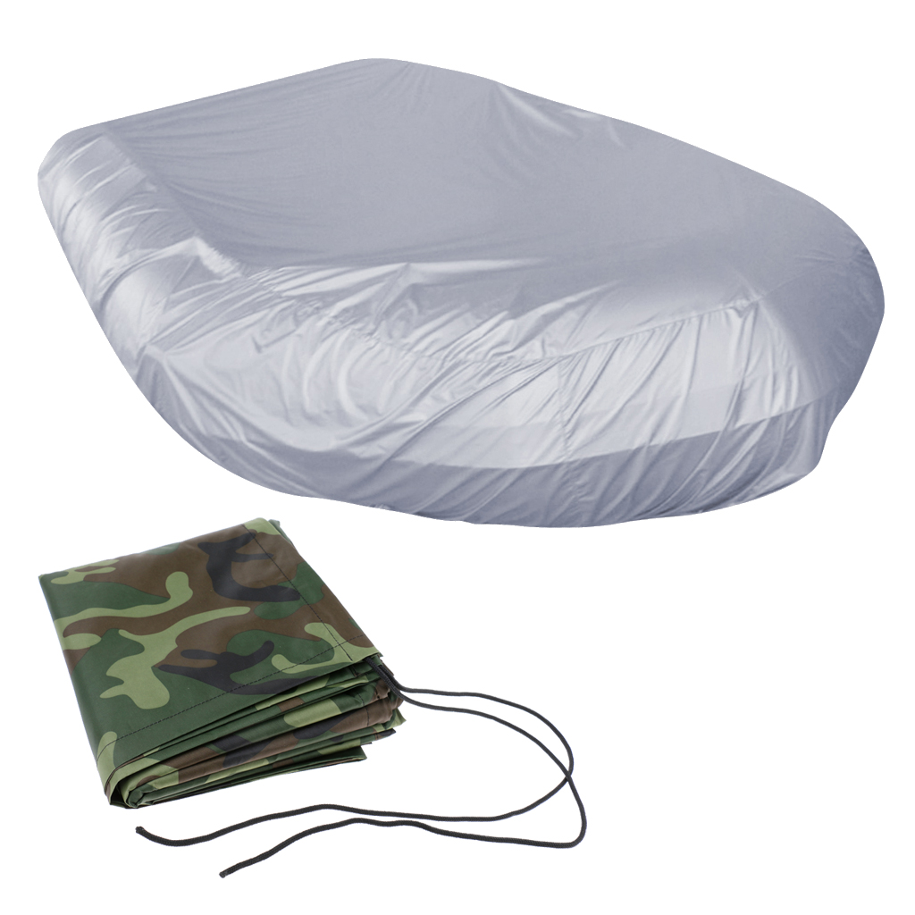 Heavy Duty Water UV Protection Inflatable Boat/Dinghy/Tender Cover Storage Accessories Inflatable Rain Shelter Boat Cover