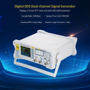 Image 5 - Kkmoon高精度dds 20 デジタルデュアルチャンネル信号パルス発生器 250msa/sの周波数計ファンクションジェネレータ