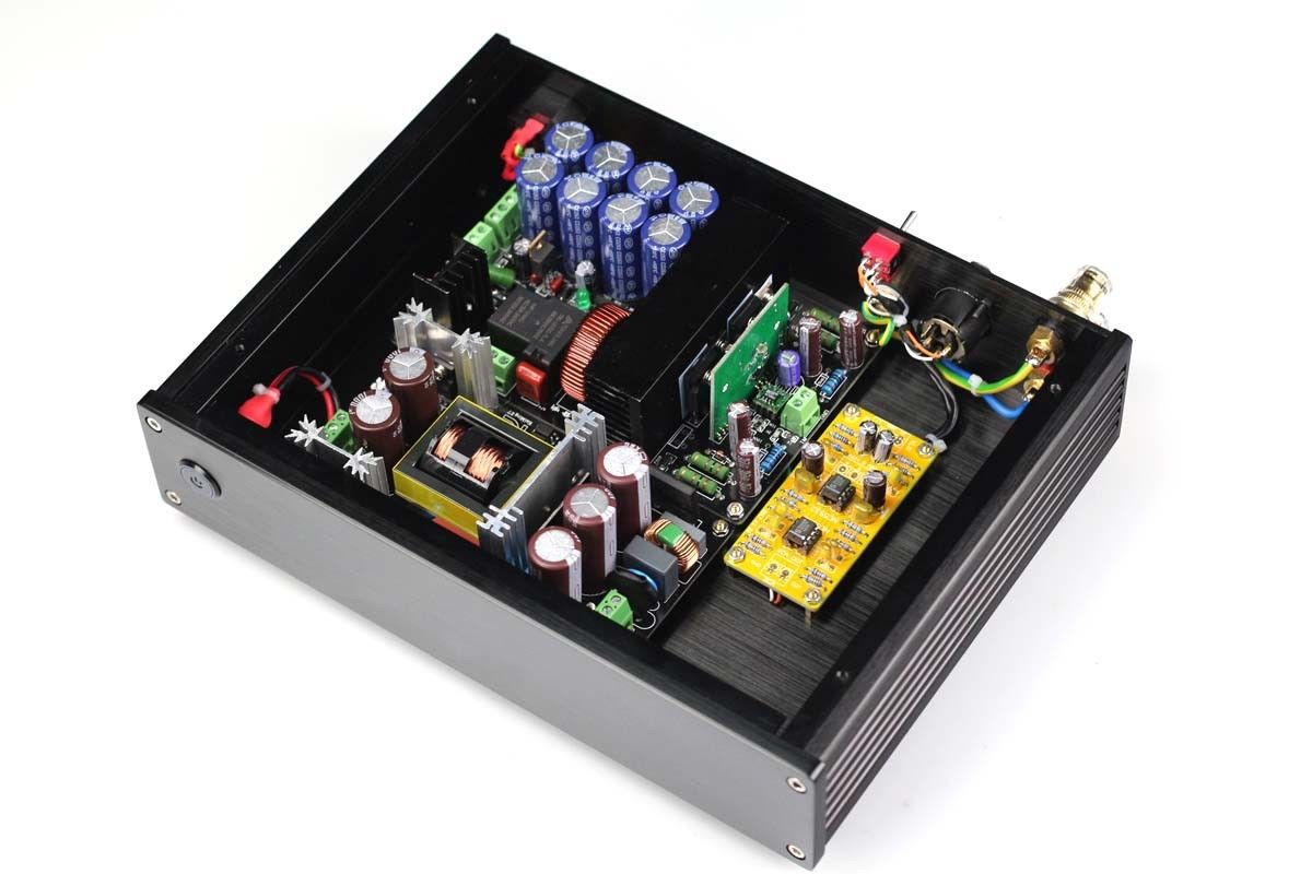 ZEROZONE Hifi 1000W IRS2092 mono Class D power amplifier support Balanced input L5 40