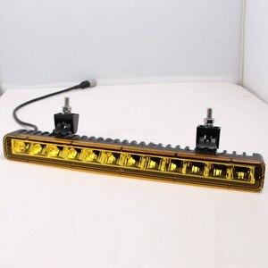 Image 5 - Barra de luz Led Ultra delgada de 14 pulgadas y 60W para todoterreno de 4x4 para coches Niva de 12V, Jeep Wrangler tj, ATV, SUV, camiones, Barra de trabajo Led, luces de conducción