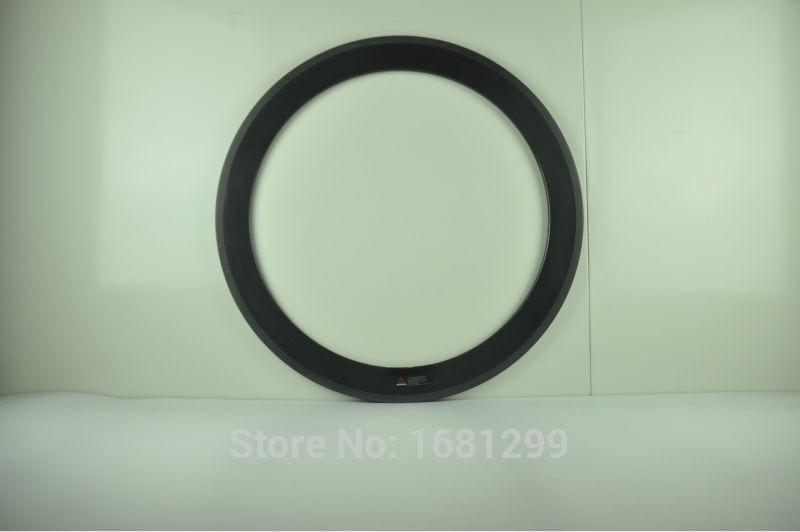 1Pcs Newest 700C 60mm tubular rim Road bike 3K UD 12K full carbon fibre bicycle wheels