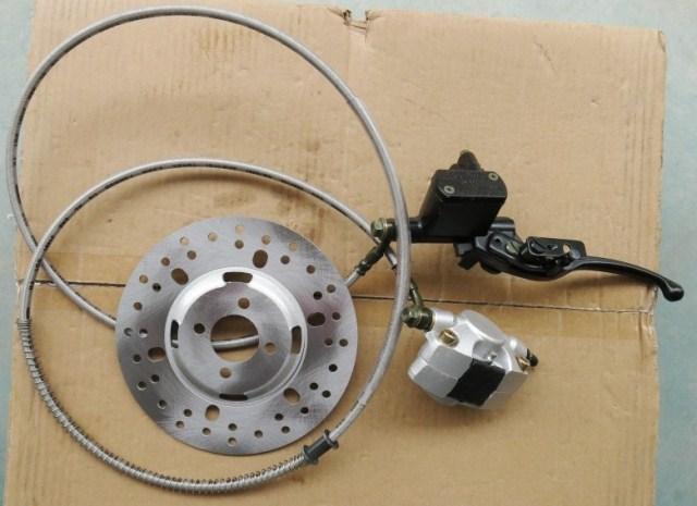 STARPAD For Motorcycle electric car big bull big Mars 110 ATV disc brake hydraulic disc brakes is hand rear brake: 175CM