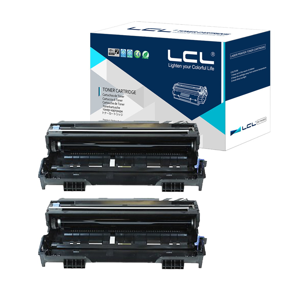 ФОТО LCL DR6000 DR 6000 (2-Pack Black) Drum unit Compatible for Brother DCP 1200 1400 1240 1250 1270N 1435 1430 1440 1450 1470N