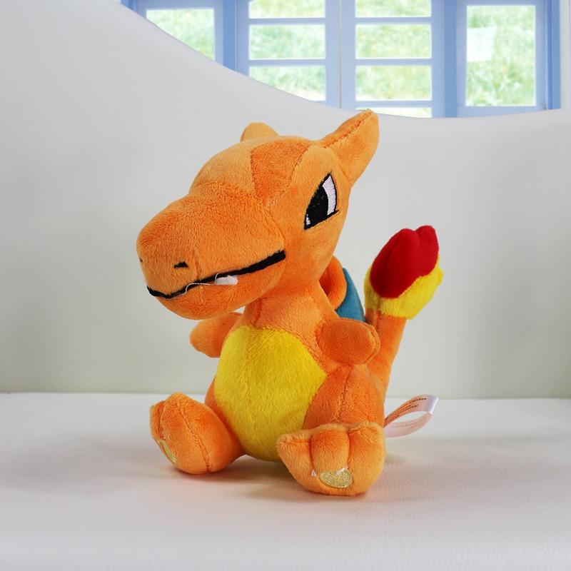1gab mazumtirdzniecības 13cm Charizard pildīta plīša rotaļlieta lelle Lieliska dāvana