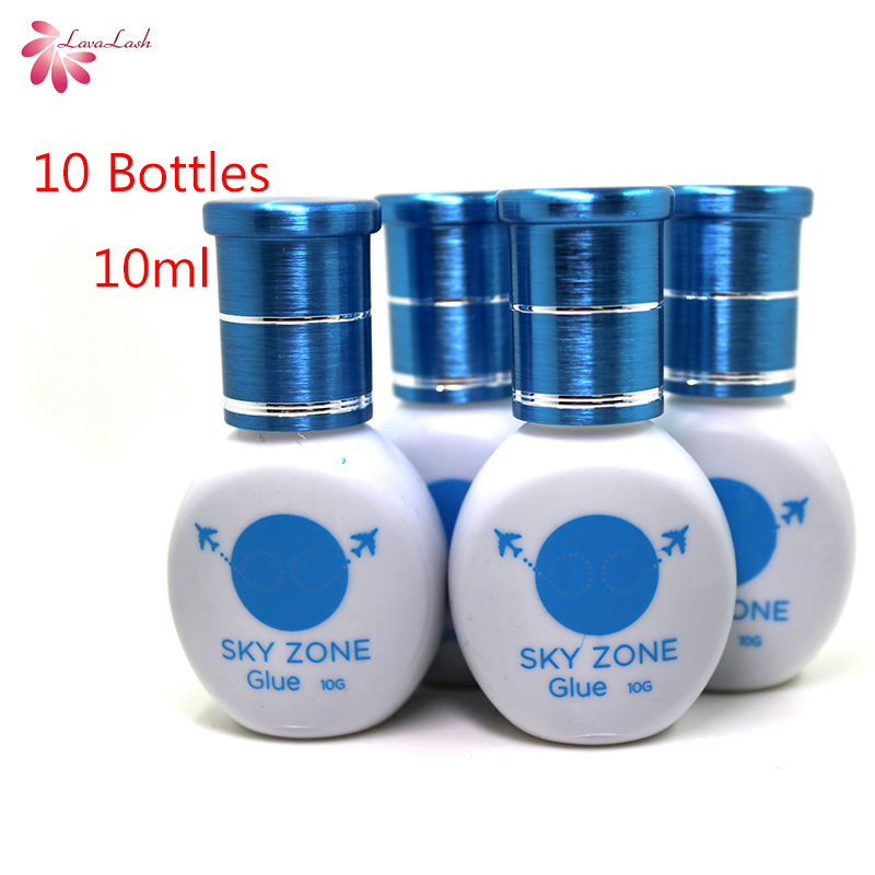 Free Shipping Original Korea 10 bottles lot Sky Glue Sky Zone Glue Without Sealed Bag For