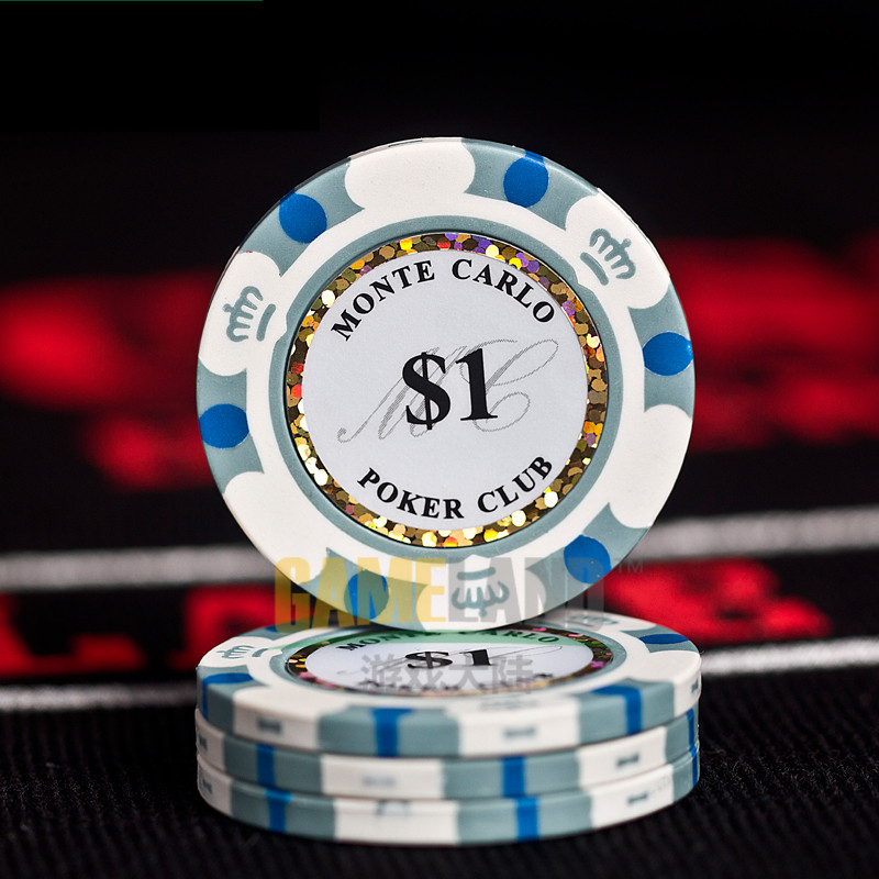 Bundle  package of NAKED CASINO CHIPS