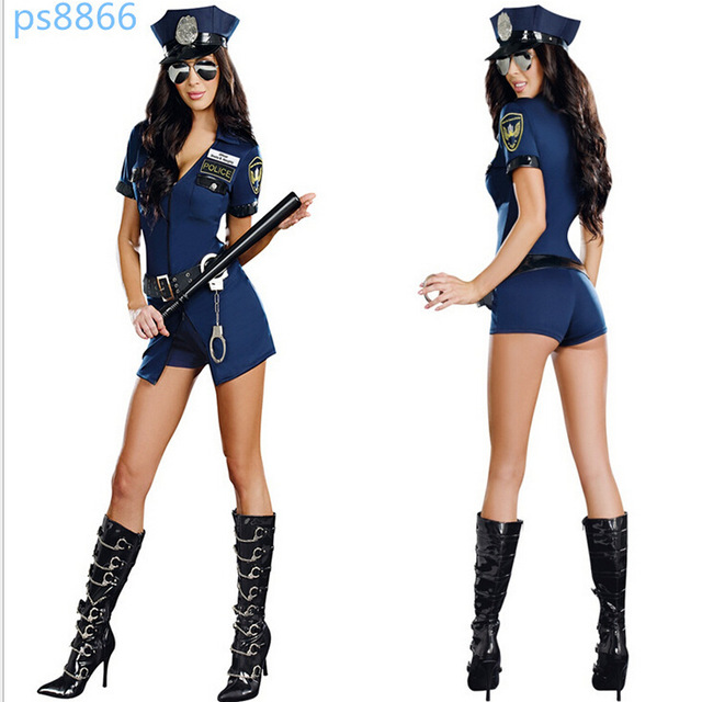 Police costume women sexy