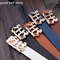 2017 TOp Fashion Style Luxury Brand Women Belt With Floral H Buckle Top Quality Leather Designer Belts Female Ceintures Correa