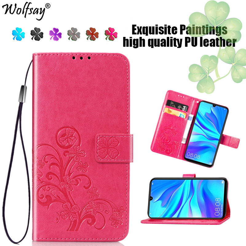 Huawei P30 Lite Case Fashion Flip Magnetic Leather Full Protective Case For Huawei P30 Lite Wallet Phone Bag For Huawei P30 Case