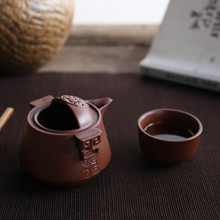 Purple Sand Tea Sets Ceramic Teapot Kettle Gaiwan Cup Of Portable Travel Set Chinese Kung Fu Ceremony