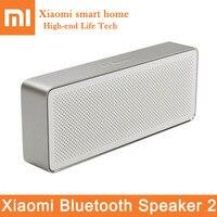 Original Xiaomi Bluetooth Speaker 2 Portable Square Box Bluetooth V4.2 Stereo HD Sound Quality Play Music Mic Wireless Speaker