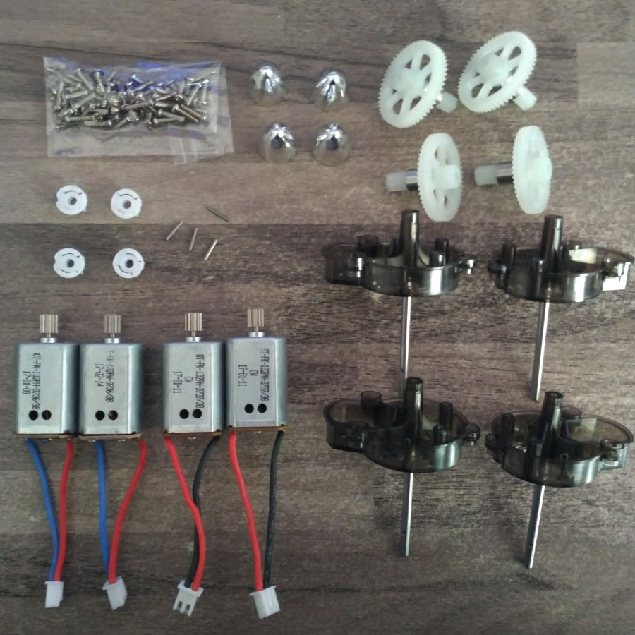 Syma X8 X8C X8W X8HC X8HW X8HG Kits Sets Spare Parts Main gears + Sleeve Iron Shaft Main Frame Motors Blades Cover Screws цены