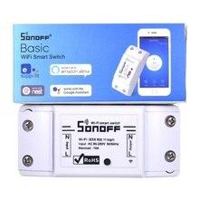 SONOFF Basic eWelink приложение умный дом Wifi переключатель беспроводной пульт дистанционного управления Автоматизация модуль Таймер DIY Универсальный 10A AC 90-250 V