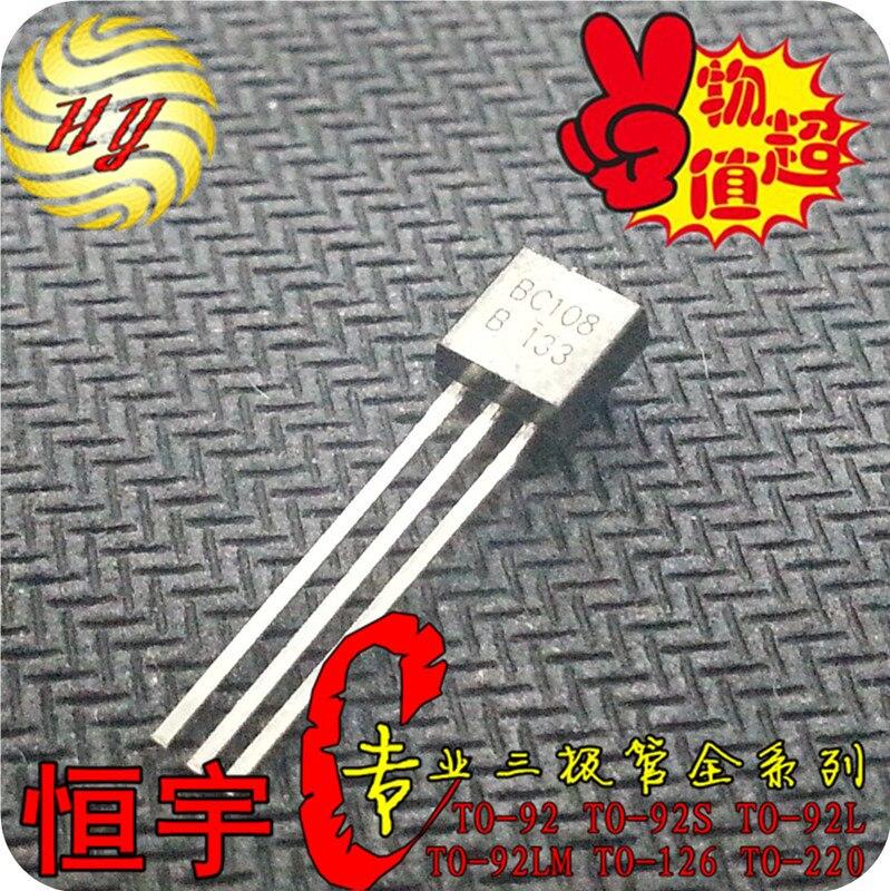 bc108 транзистор