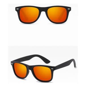 ae5a0cebc06 Men Polarized Sunglasses Black Frame Fashion Sunglasses UV400 Eyewear Male  Sun Glasses