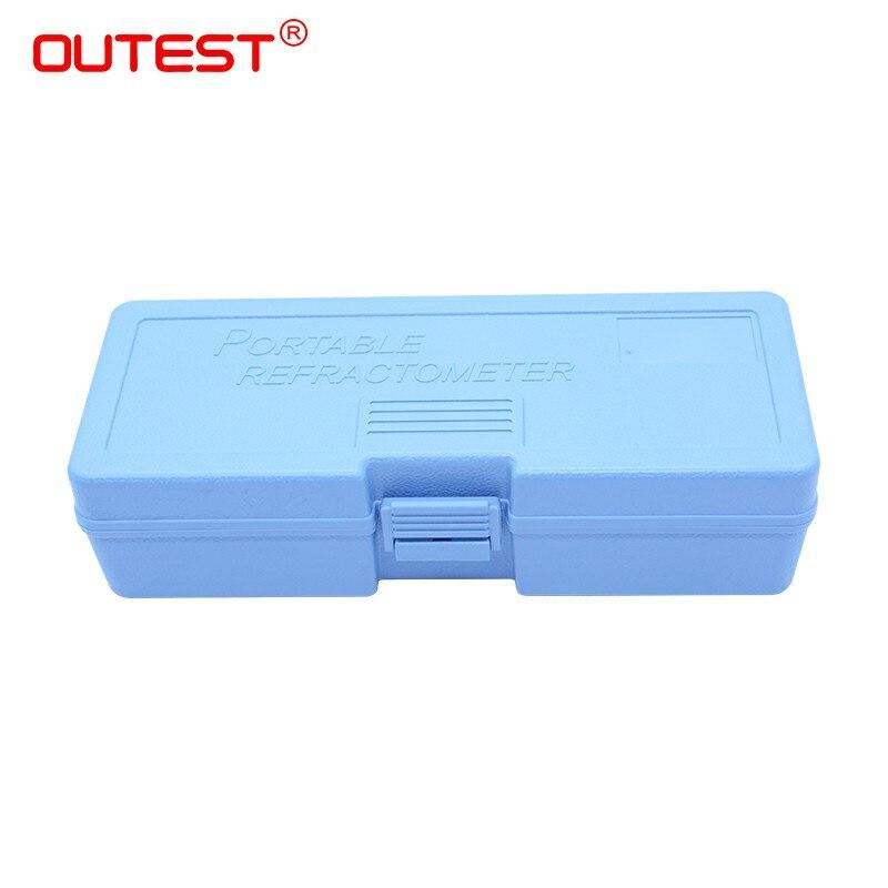 OUTEST Hand held auto réfractomètre brix cas auto lunette cas boîte en plastique carry box
