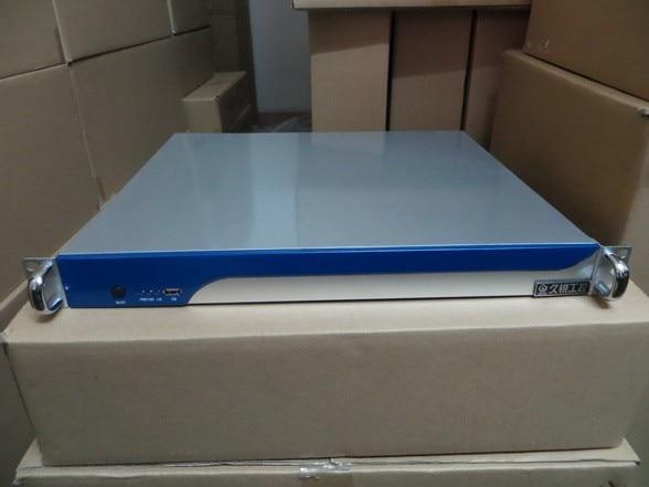 все цены на  Server chassis 1U380 mm rackmount IPC industrial network firewall computer case  онлайн