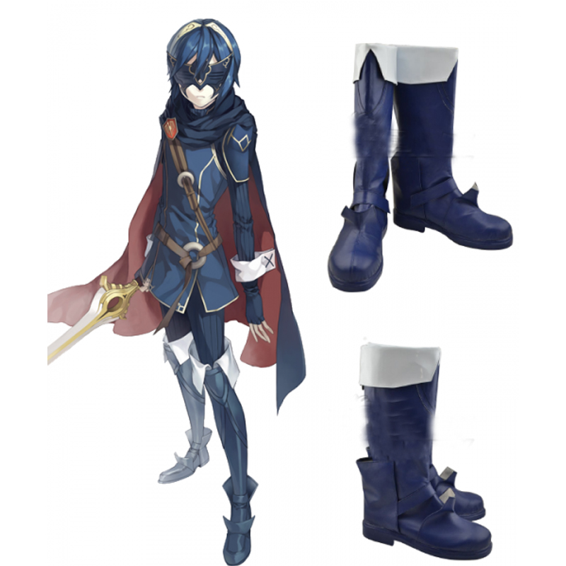 Fire Emblem Awakening Marth Lucina Cosplay Shoes Boots Halloween Carnival Cosplay Costume Accessories