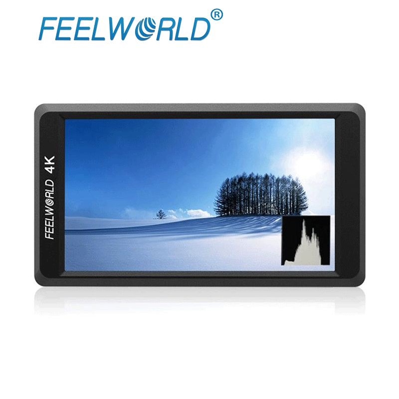 FEELWORLD F550 5.5 IPS 4 К HDMI Full HD 1920x1080 Камера поле Мониторы крепление Коврики Stablizer для DSLR Gimbal Рог черный