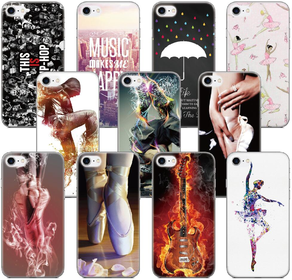 font b Music b font Ballet Dance Cover For HTC one X E8 M8 M9