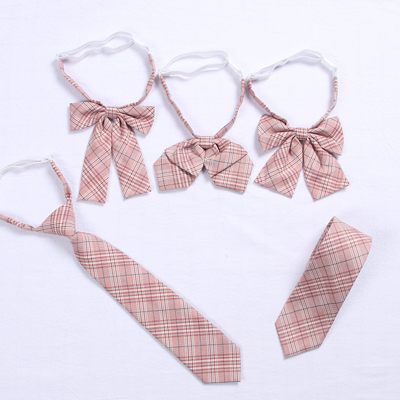 2019 Pink Jk Uniform Bow Tie Cute Japanese/korean School Uniform Accessories Bow-knot Tie Design Knot Cravat Necktie Adjustable