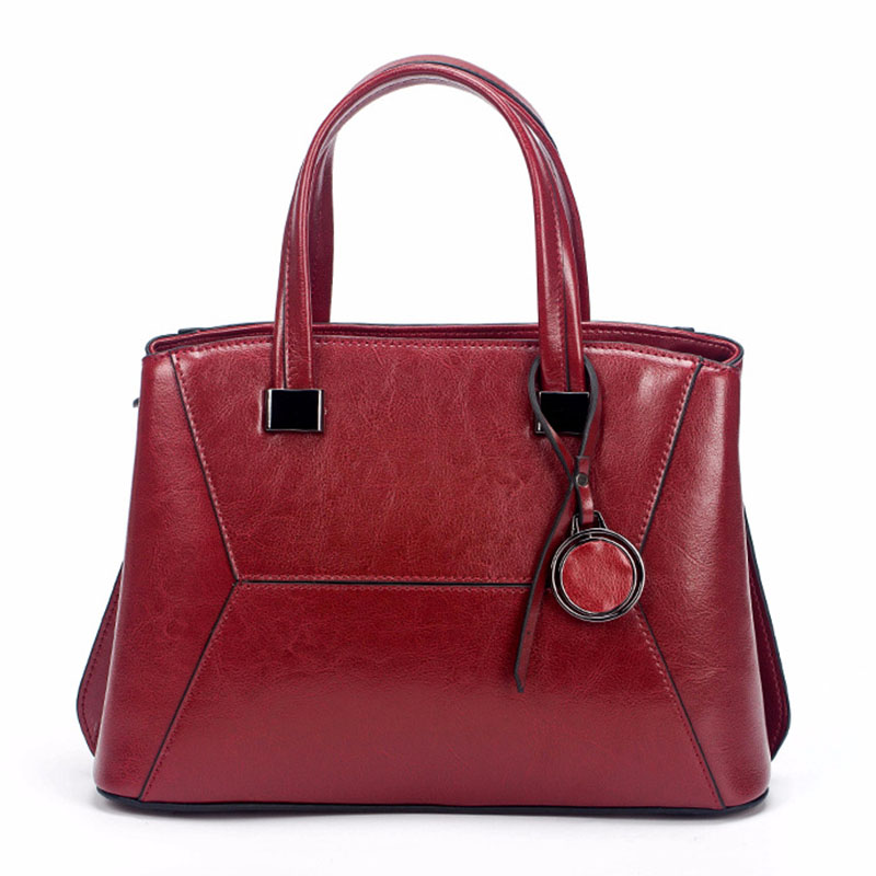 Women Bag Luxury Brand 2019 Genuine Leather Cowhide Shoulder Messenger Bags High Quality Large Capacity Casual Tote Bag FemaleWomen Bag Luxury Brand 2019 Genuine Leather Cowhide Shoulder Messenger Bags High Quality Large Capacity Casual Tote Bag Female