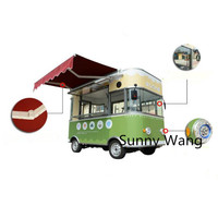 New Designed Multifunctional Street Food Van / Mobile Food Trailer / electric food truck