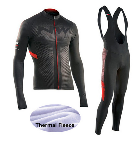 2018 Winter Thermal Fleece NW Cycling Jersey Ropa Ciclismo Mtb Long Sleeve Men Bike Wear Clothing Maillot Bicicleta -5MJD8 2018 maillot ropa ciclismo invierno tinkoff winter cycling jersey thermal fleece long sleeve cycling clothing set mtb bike wear
