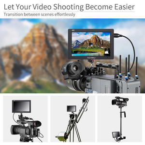 Image 2 - FEELWORLD FW703 7 Inch IPS Full HD 3G SDI 4K HDMI On Camera DSLR Field Monitor 1920x1200 with Histogram for Stabilizer Camera