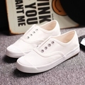 SALE 2016 spring new  Free shipping  classical women shoes SOLID casual  white shoes women fashion Casual shoes hot