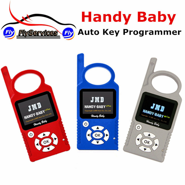 Fast Shipping CBAY Handy Baby Car Key Copy Key Programmer For 4D/46/48 Chips JMD Handy Baby Hand-held Auto Key Programmer
