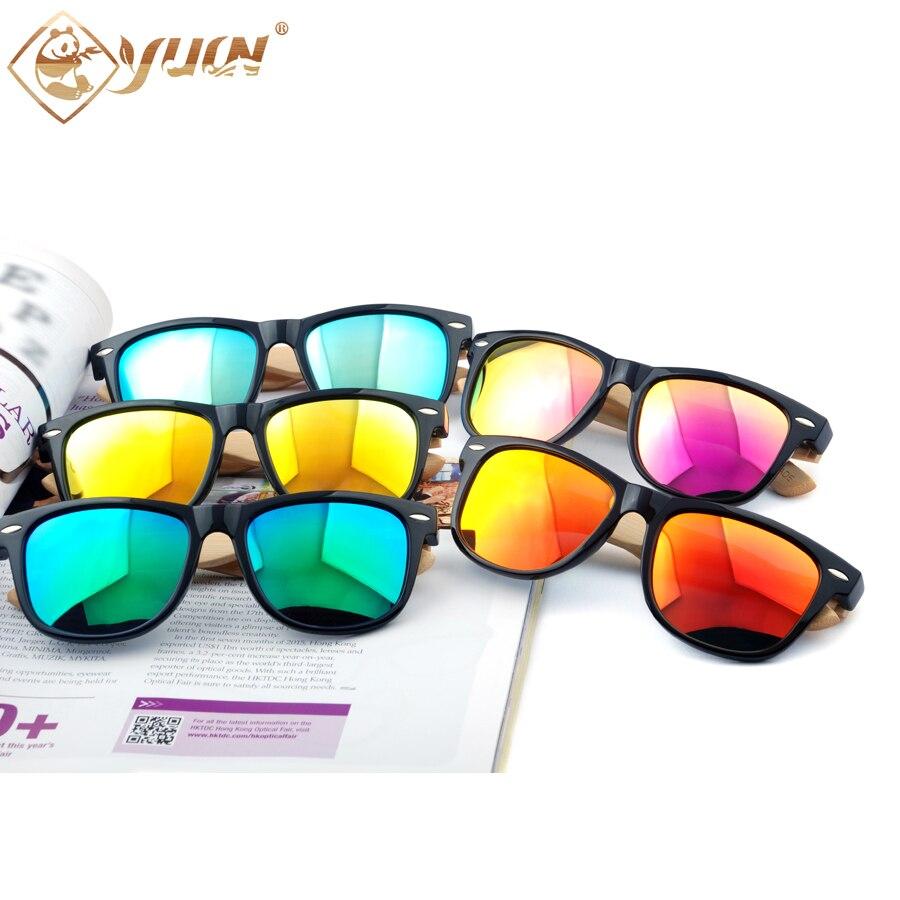34b349f2c9817 Clássico óculos de sol dos homens polarizados lentes de sol mujer primavera  dobradiças templos de bambu espelhado oculos de sol masculino feminino 1203