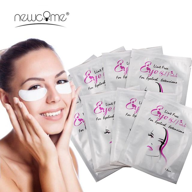 High Quality under Eye Pads Lash Eyelashes Extension Paper Patches Eye Tips Sticker Wraps Makeup Tools Cheap Under Eye Pads