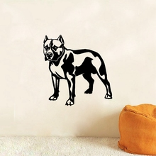 French Bulldog Vinyl Wall Sticker Removable Dog Wall Art Mural Decals For Home Living Room Decoration