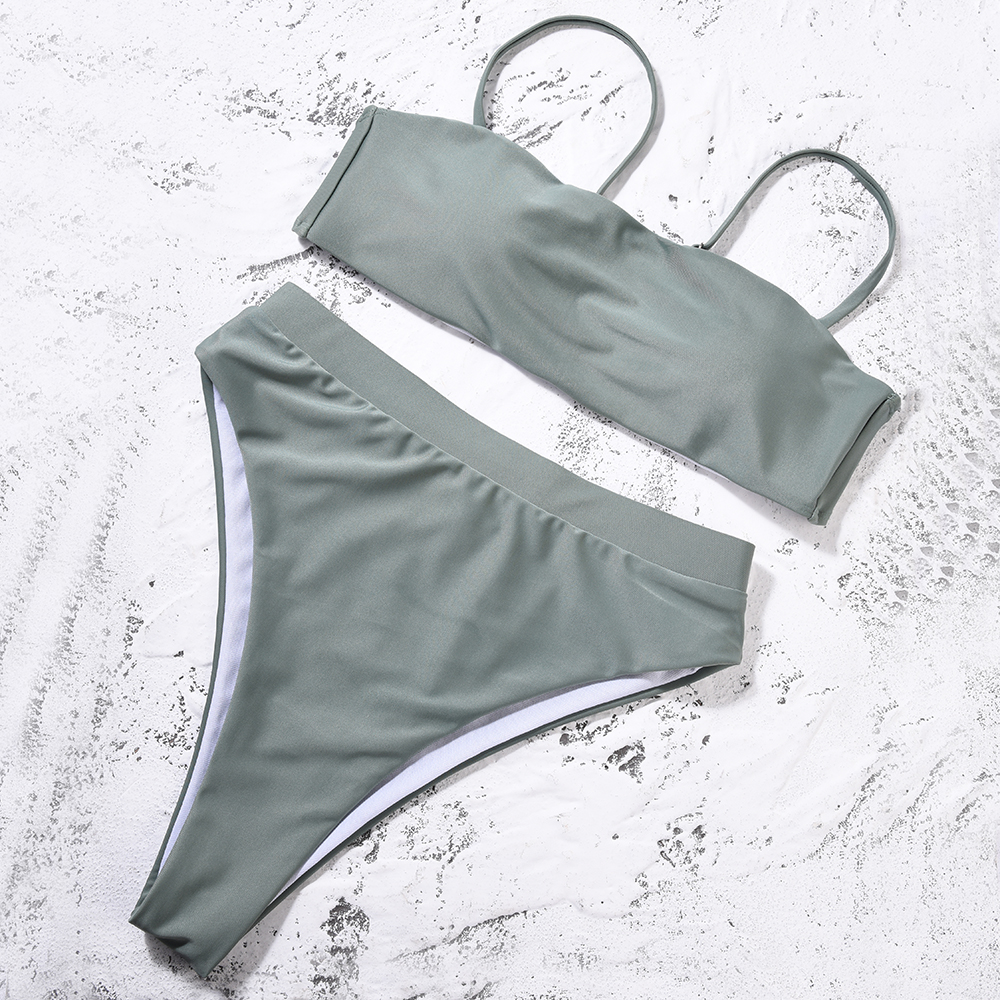 Sexy Bikini Push Up Swimwear High Waist Swimsuit