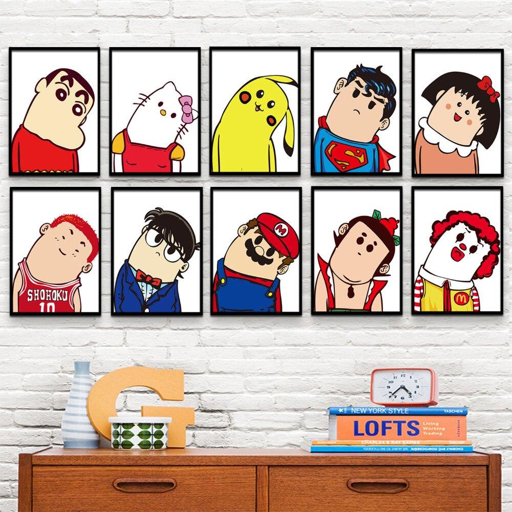 Achetez en gros personnage de dessin anim art en ligne - Caricature gratuite en ligne ...