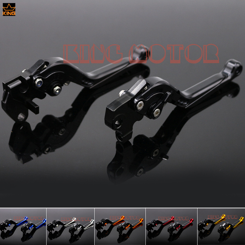 For YAMAHA YZF R125 YZF-R125 2012-2013 Motorcycle Accessories Adjustable Folding Extendable Brake Clutch Levers Black billet alu folding adjustable brake clutch levers for motoguzzi griso 850 breva 1100 norge 1200 06 2013 07 08 1200 sport stelvio