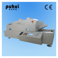 Authorized PUHUI T 960 LED Soldering Machine Mini SMT Reflow Oven T960 Infrared IC Heater BGA SMD Rework Sation T 960
