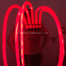 Colorful Robot LED Luminous Tentacle Men Costumes Illuminated Suit Ballroom Led Light Dancing Show Dance Dress Clothing