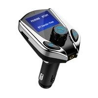 Новый 1,44-дюймовый Экран Hands Free Беспроводной Bluetooth MP3 прикуривателя питание fm-передатчик Поддержка TF карты USB автомобиль chager