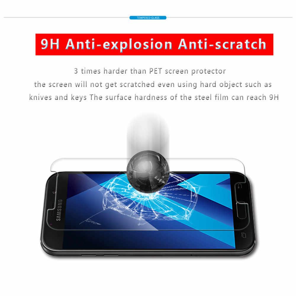 2.5D Protector de pantalla para Samsung A5 de vidrio templado para Samsung Galaxy gran primer S3 S4 S5 S6 J3 J5 J7 J2 j1 2016 mini 2017 dureza 9 H