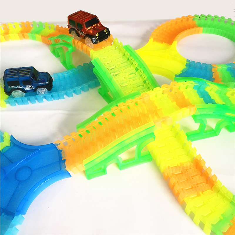 glow-in-dark-bend-flexible-curve-slot-diy-track-toy-car-set-with-track-led-light-racing-car-toys-for-children-christmas-gifts