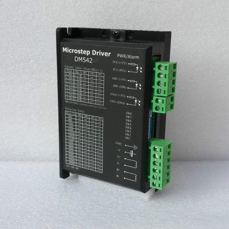 Driver M542 Stepper motor Driver 50V/4.2A Microstep 256 DM542 24-50v 4.2A for NEMA17 NEMA23 NEMA34 stepper motor цена