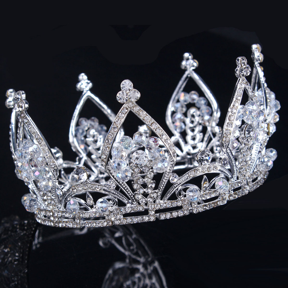 2017 new bridal princess austrian stunning crystal hair tiara 2017 new bridal princess austrian stunning crystal hair tiara wedding crown veil headband wedding tiaras for brides in hair jewelry from jewelry junglespirit Gallery