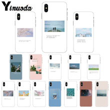 Yinuoda Art couple love vows Soft Silicone TPU Phone Cover for Apple iPhone 8 7 6 6S Plus X XS MAX 5 5S SE XR