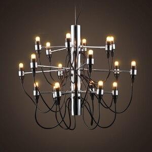 Image 3 - Nowoczesne żyrandole oświetlenie domu lampa wewnętrzna nabłyszczania de para cristal sala de janta żyrandol do jadalni salon sypialnia