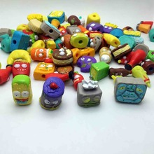 50Pcs/lot  The Grossery Gang Mini Action Toys Figures Popular Kid's Playing Model Dolls Christmas Gift Toy