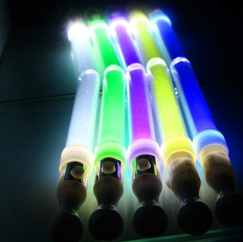 LED Electronic Light Stick Short Stick Light Straight Stick Colorful Flash Stick YH1819