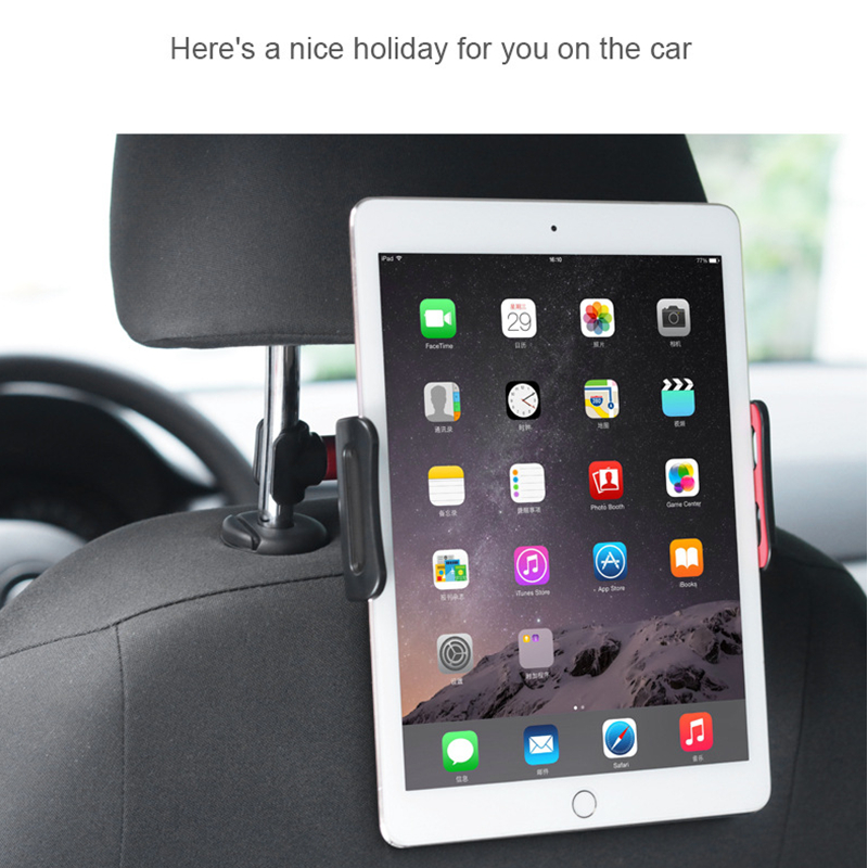 Car Back Seat Phone Tablet Holder Universal 4 11 quot Tablet Stand Bracket Mount for iPad 9 7 Air 2 1 Pro Phone Stand for iPhone X 8 in Tablet Stands from Computer amp Office