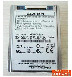 1.8inch CE 60GB σκληρό δίσκο MK6008GAH αντικαταστήσει mk8009gah mk1011gah mk1214gah hs122jc για Lenovo U110 K12 Dell d430 D420 HP NC2400 Νέο